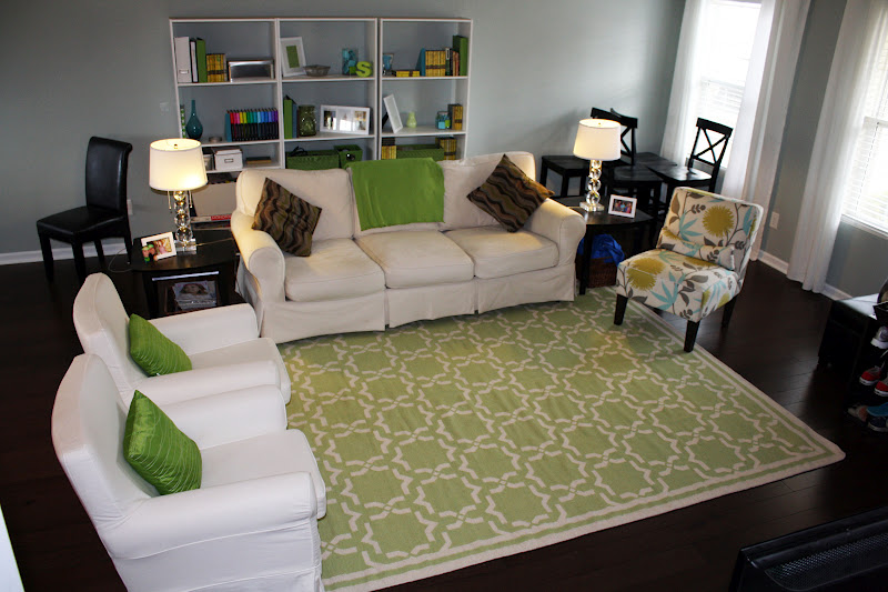 5 X 7 Rug If Having This Much Green In A Room Is Wrong I Dont Want To Be Right But Seriously Ive Really Enjoyed My Beautiful