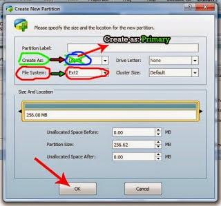 Cara Membuat Partisi SDCard Untuk Link2SD Di Android