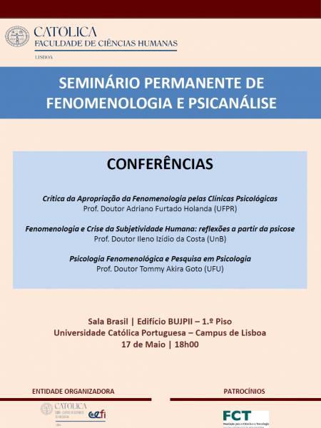 Conferências 17 Maio 2019