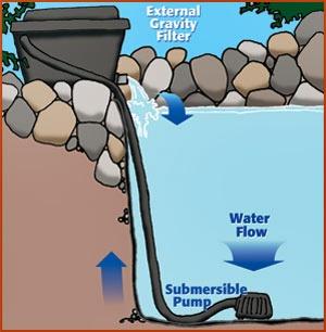 Filter kolam koi akuarium ikan hias for Pompa filtro laghetto