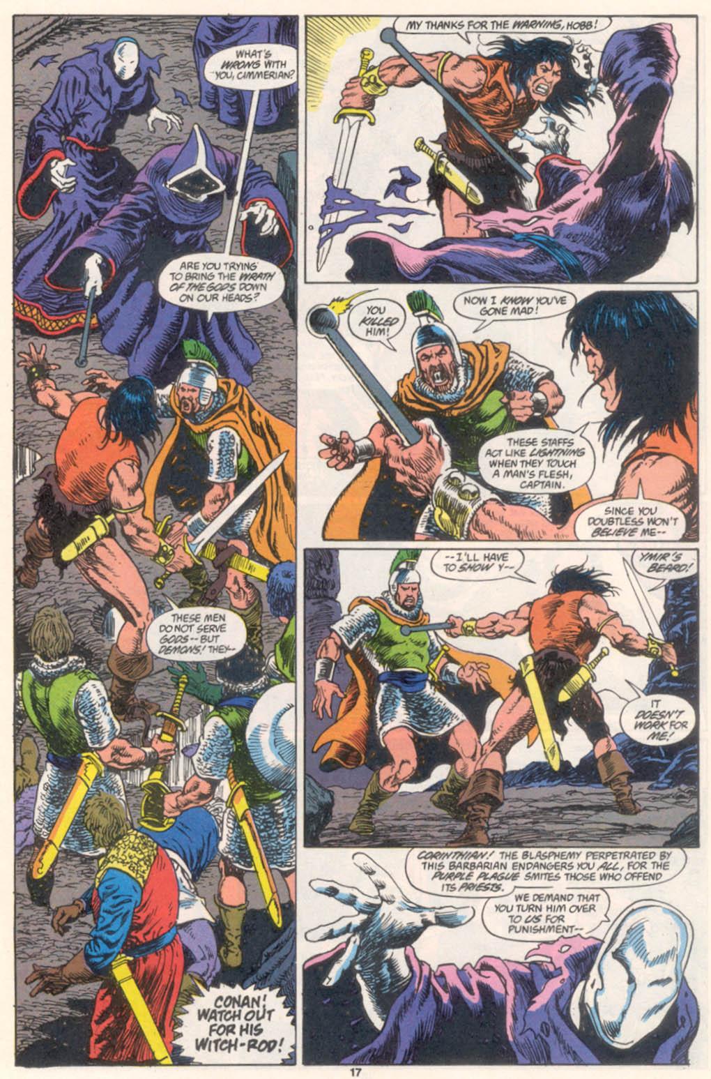 Conan the Barbarian (1970) Issue #255 #267 - English 14