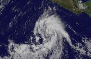 Tropischer Sturm KENNETH bildet sich im Nordost-Pazifik, Kenneth, 2011, Hurrikansaison 2011, November, aktuell, Satellitenbild Satellitenbilder, Pazifik, Nordost-Pazifik,