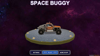 Space Buggy - driving game