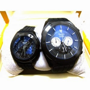 jam tangan alexandre Christie 6326 couple