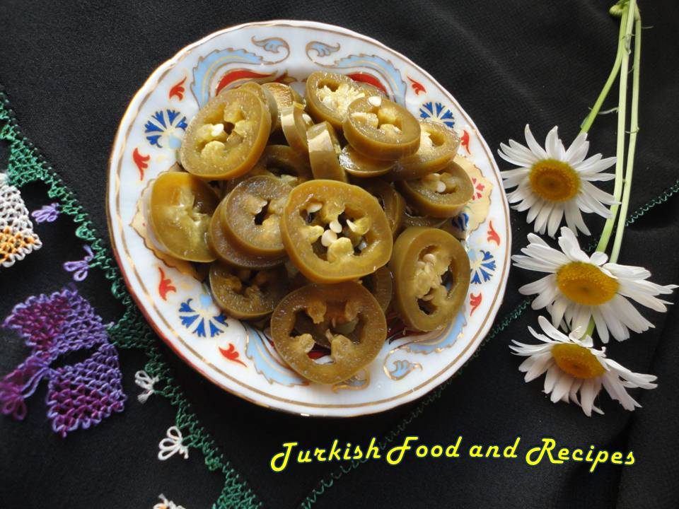 about Pickled Jalapenos (Jalapeno Tursusu)