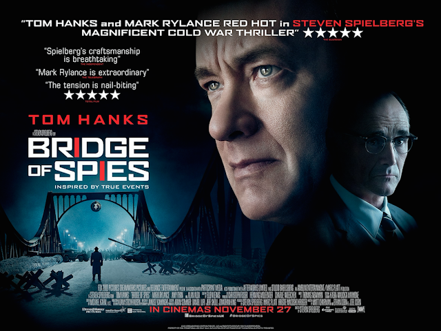 bridge of spies uk poster