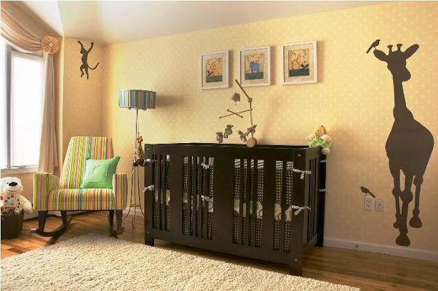 paint ideas for baby boy nursery