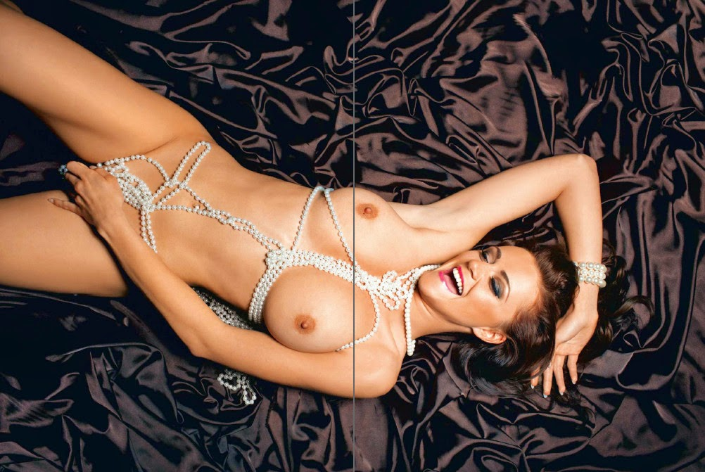 beautiful sexy Manja Dobrilovic nude for Playboy Slovenia pic 5