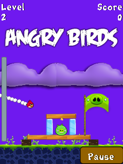 Angry Birds - Touch Screen - Java