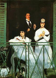 Эдуар Мане. На балконе. 1868 — 1869.