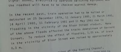 GO Train flood Toronto