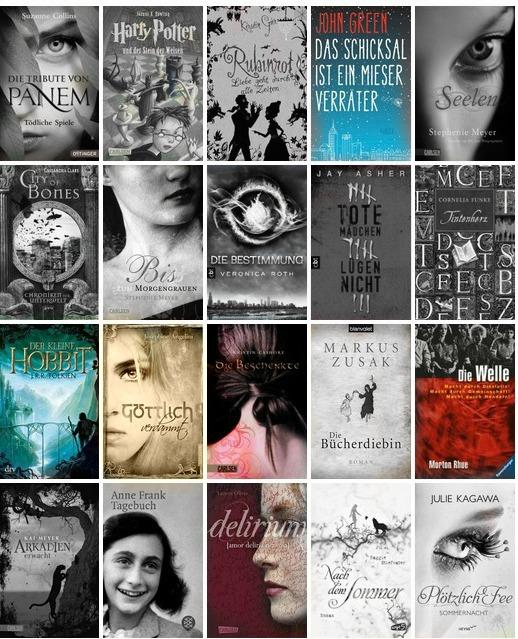 Meine Bücherwelt: 100 Jugendbücher die man gelesen haben