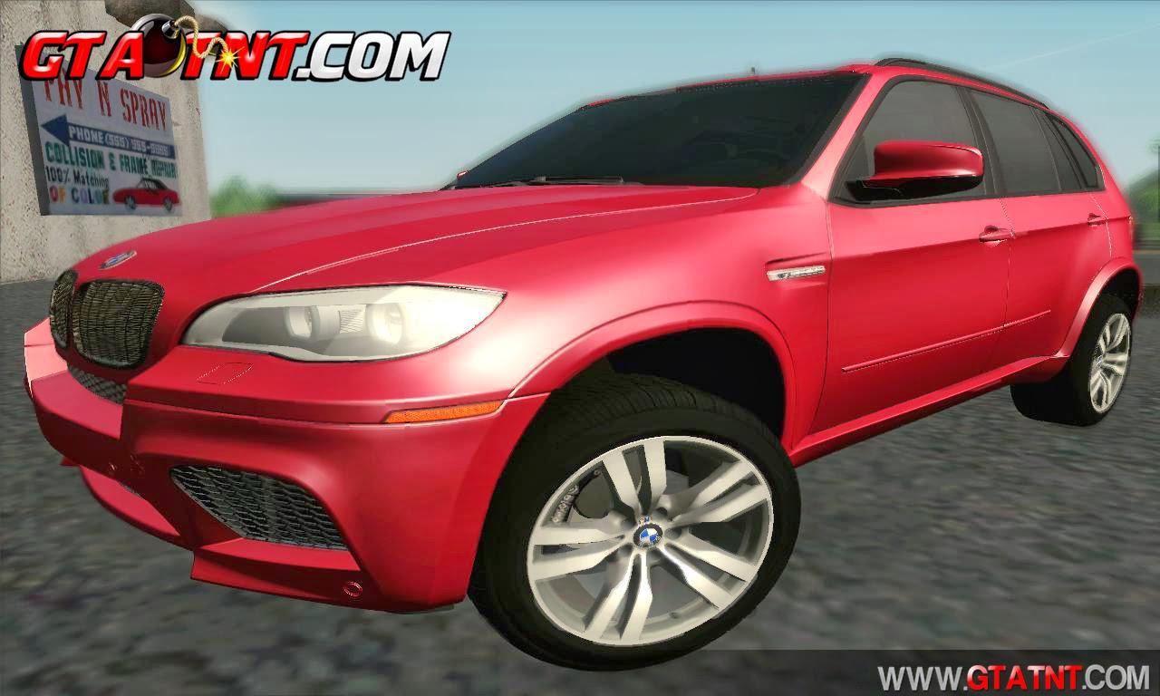 BMW X5M 2013 para GTA San Andreas