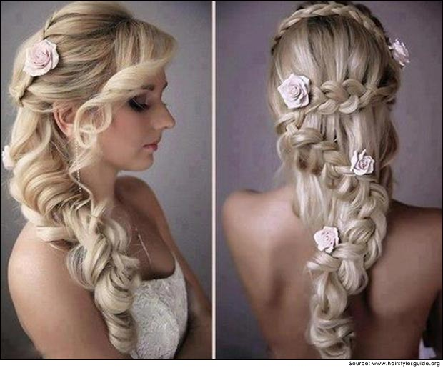 Cascading Braid Hairstyle | Hair Tips at Megha Shop