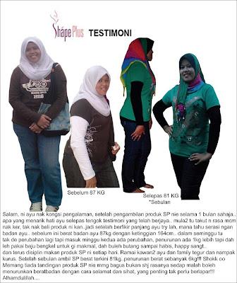 shape plus testimonial