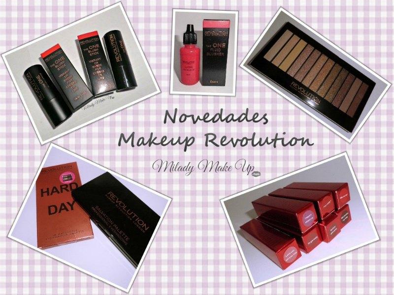 Novedades Makeup revolution