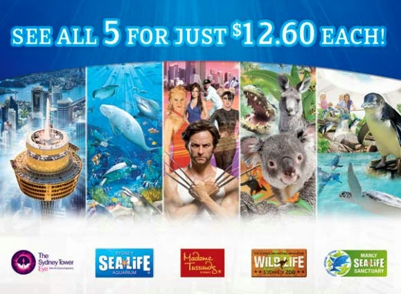 Sydney Sea Life Aquarium - Best Sydney Attraction Pass Deal