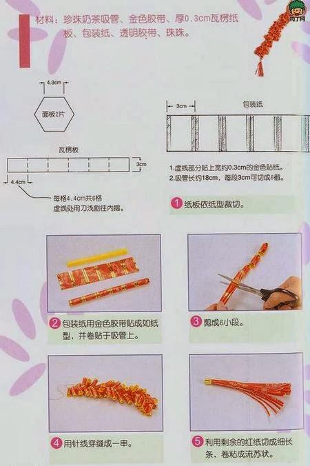 Diy angpao firecracker the idea king for Ang pao origami