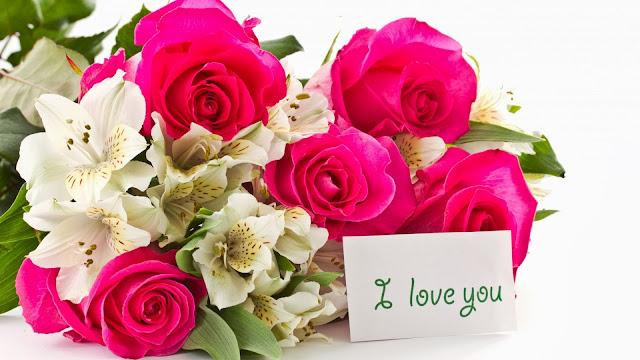 Orquídeas Blancas y Rosas Rojas