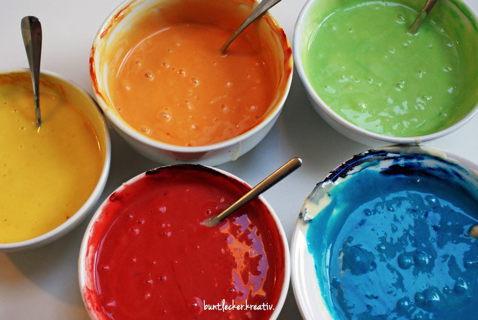 Regenbogenfarbener Kuchen... | bunt.lecker.kreativ