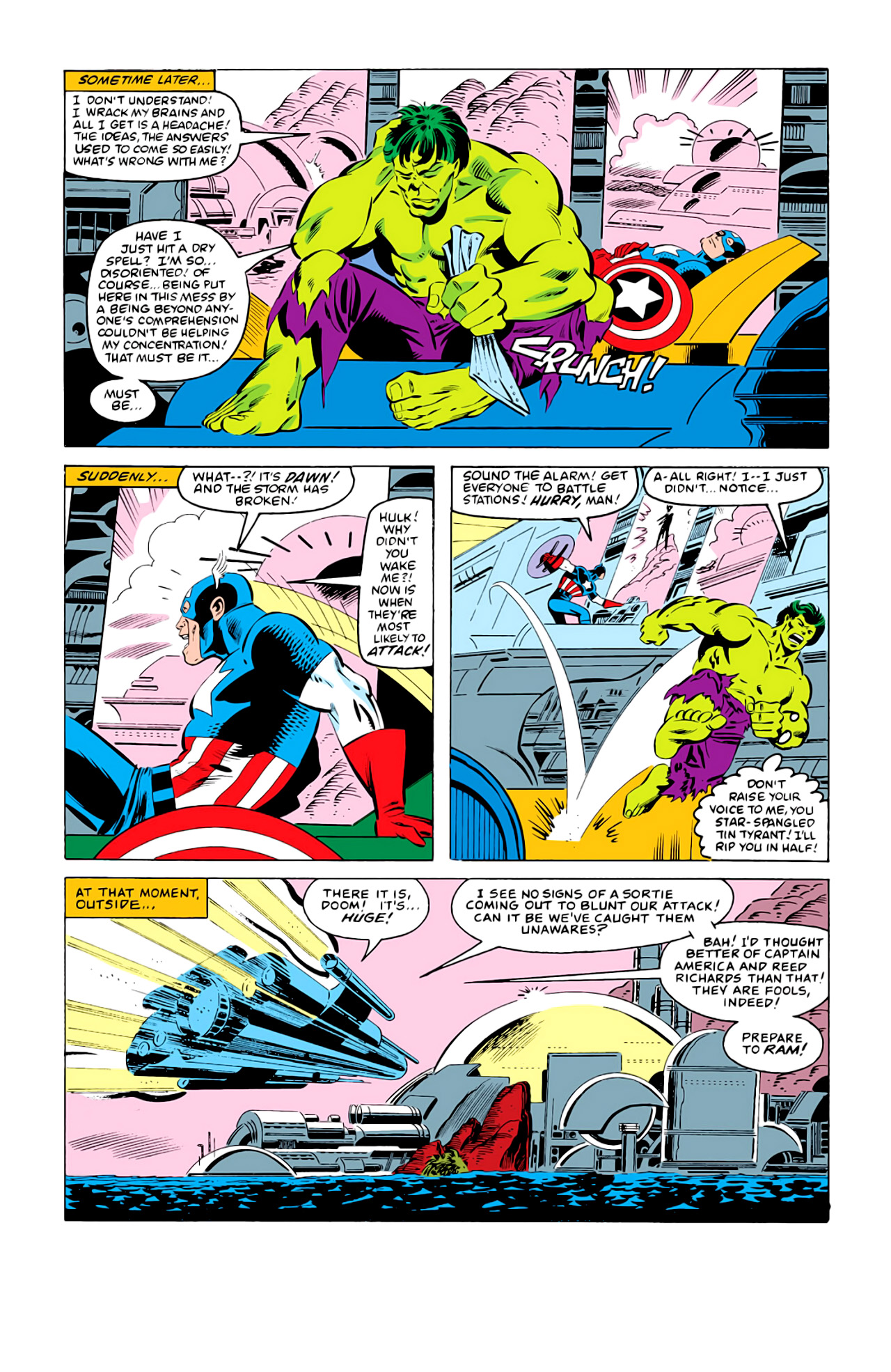 Captain America (1968) Issue #292d #211 - English 21