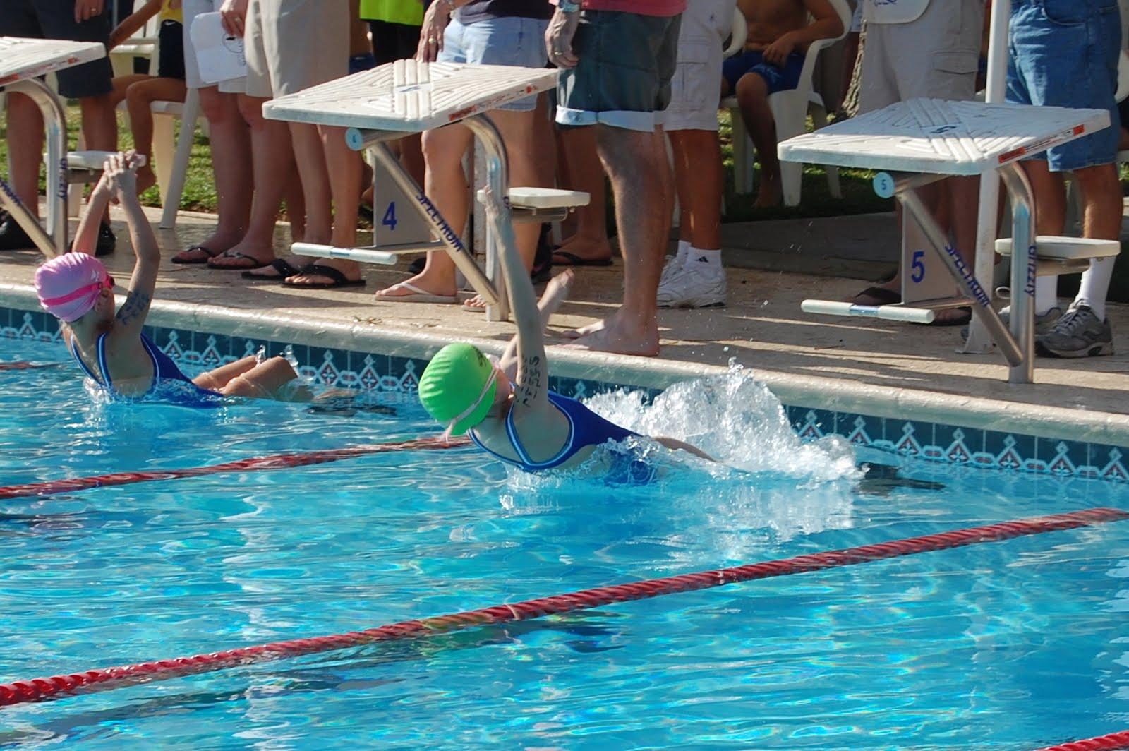 Blair's Blessings First Swim Meet
