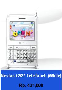 Daftar HP Murah Nexian G927 TeleTouch (White) - wedhanguwuh.com