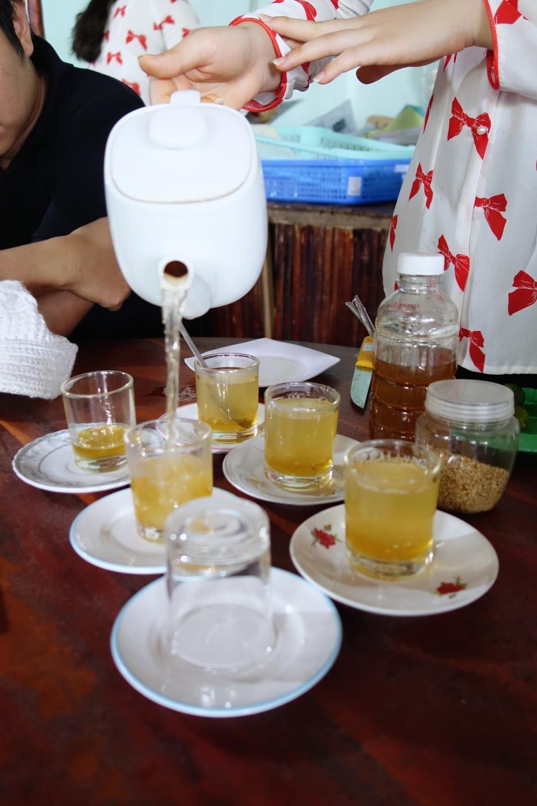honey tea with kumquat