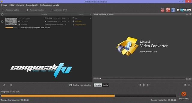 Movavi Video Converter Version 14.3.0 Español