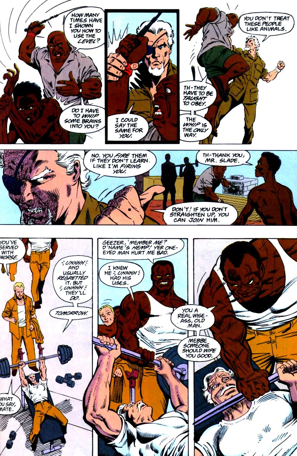 Deathstroke (1991) Issue #26 #31 - English 4