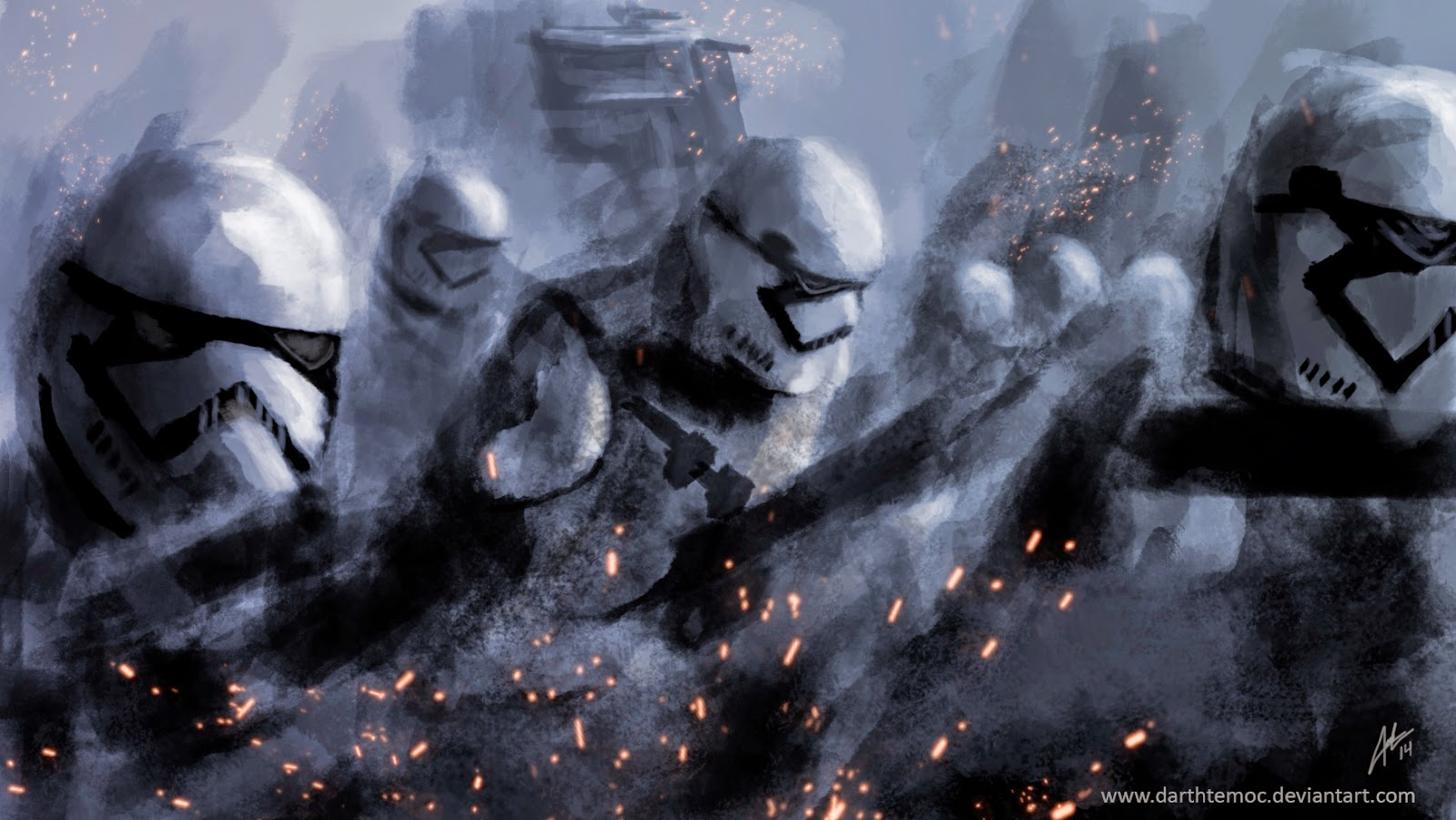 Star Wars 7 New Storm Troopers fan art