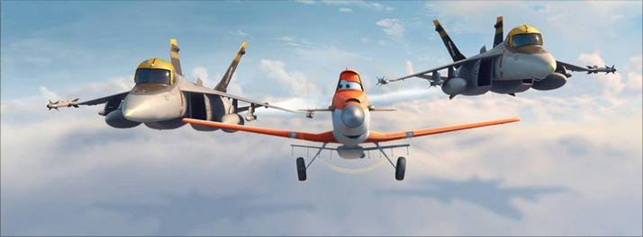 planes scene
