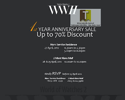 WWII 1st Anniversary Sale Watches