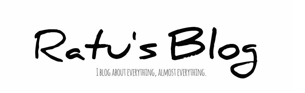 Ratu's Blog
