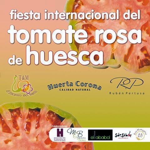 Feria internacional del tomate rosa de Huesca