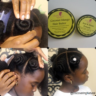 Natural Hair Rosette Hairstyle for Sensitive Scalp  DiscoveringNatural