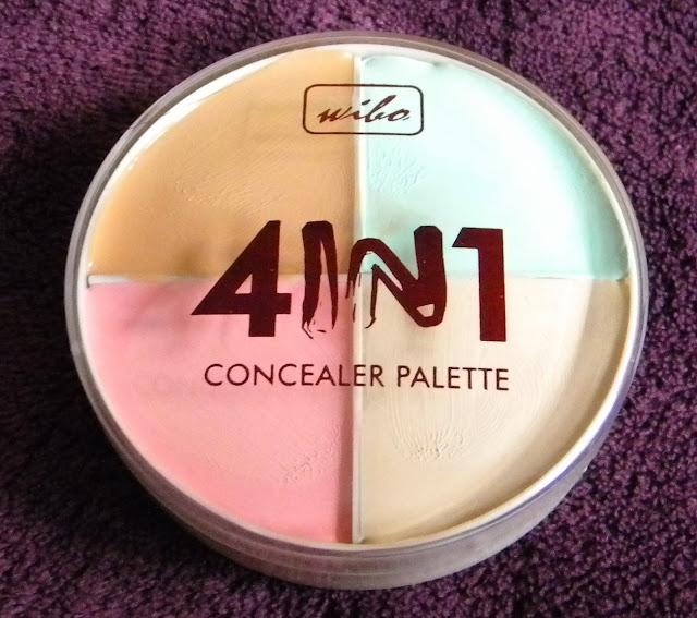 4 w 1 paleta korektorów do twarzy (Wibo)