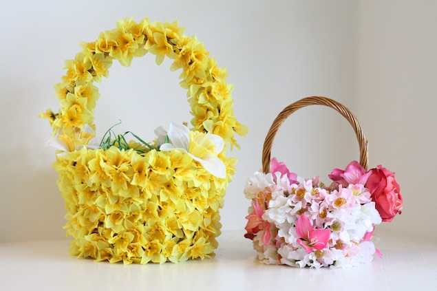 Floral Easter Baskets | My Growing Home
