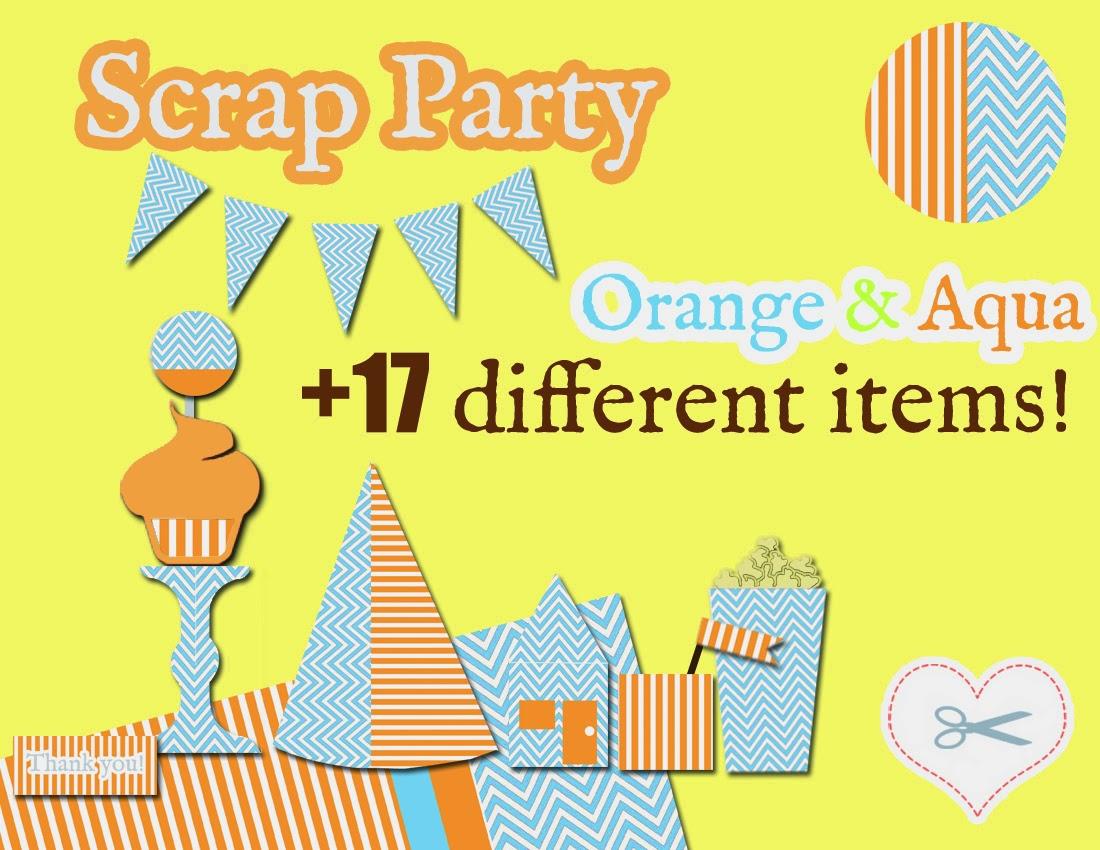http://www.fiverr.com/meanna/send-you-a-printable-orange-and-aqua-party-set