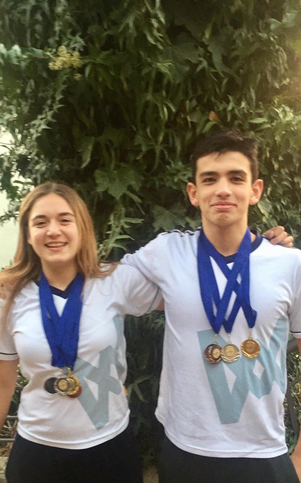 Nuestros Nadadores siguen ganando medallas