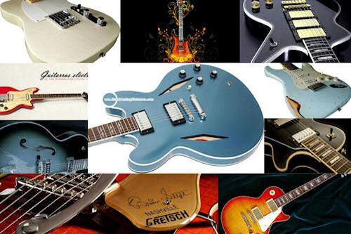 Guitarras eléctricas e instrumentos musicales II