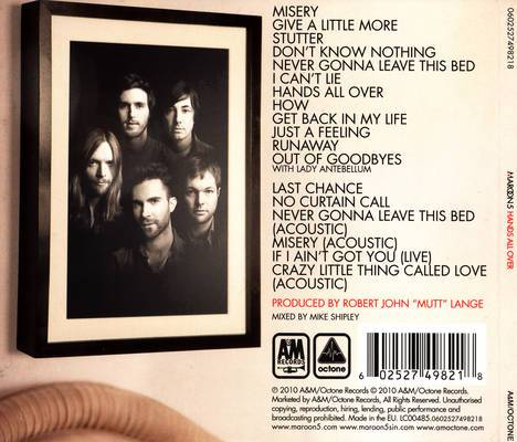 Maroon 5 overexposed download free rar