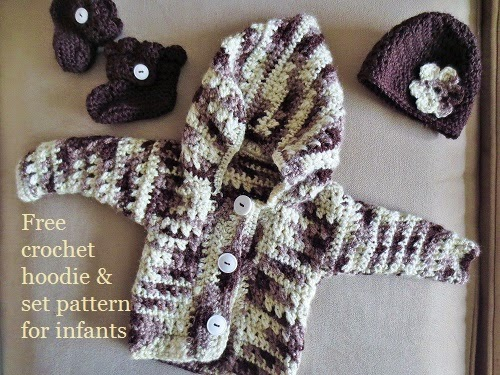 Free Crochet Patterns For Baby Hoodies : Poor and Gluten Free (with Oral Allergy Syndrome): Easy ...