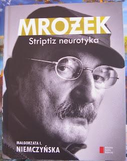 okładka książki Mrożek Striptiz neurotyka