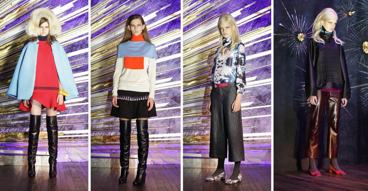 Inspection Report: Cynthia Rowley Fall 2014 Presentation