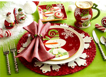 Cute Christmas themed Dinnerware set- I have lotsa single pieces of Christmas themed dishware but I want a whole set this time coz I want a festive table ... & All I Want For Christmas meme and Christkindlmarket at MOA | Blog ni ako