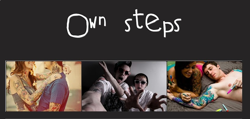 own steps