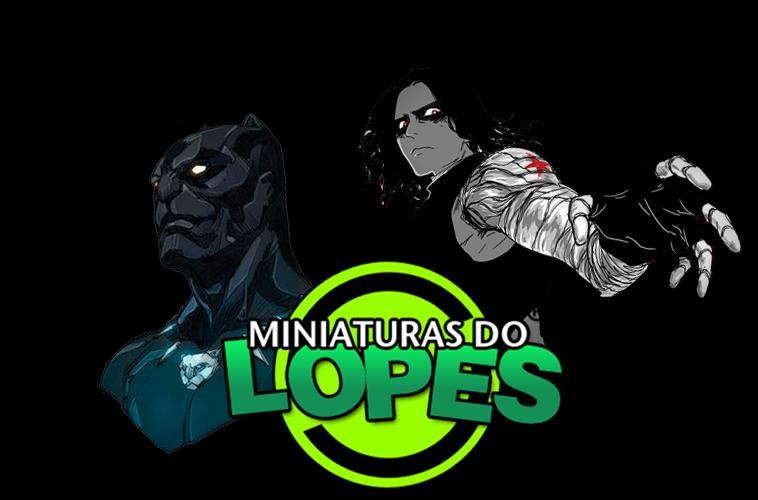 Miniaturas do Lopes!