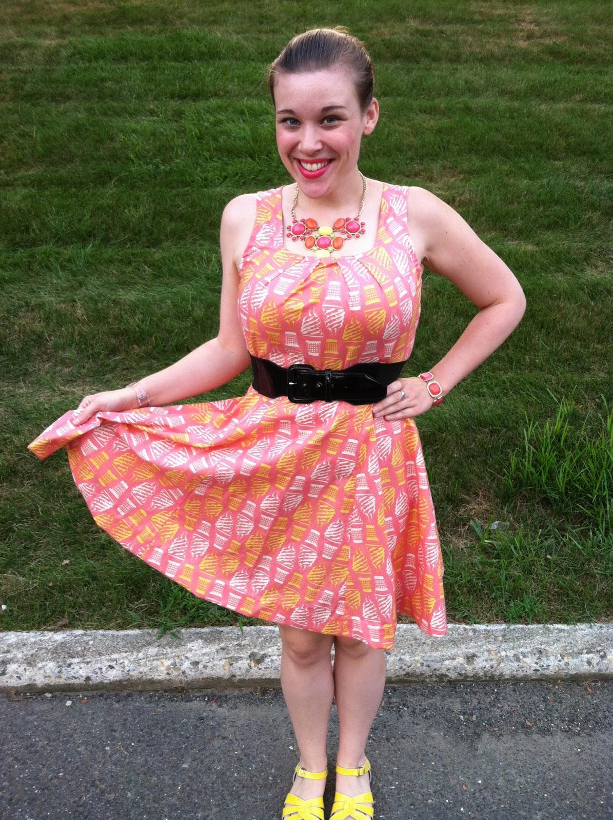 Colour Me Bristol: New Handmade Ice Cream Dress!