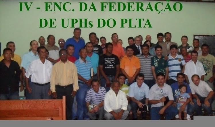 IV - ENC. DA FEDERAÇÃO UPHs PLTA